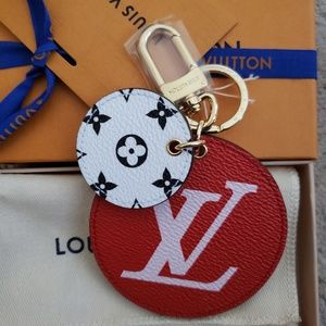 LV Monogram Giant Bag Charm & Key Holder